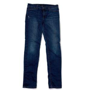 Joe's Blue Denim Straight Leg Jeans